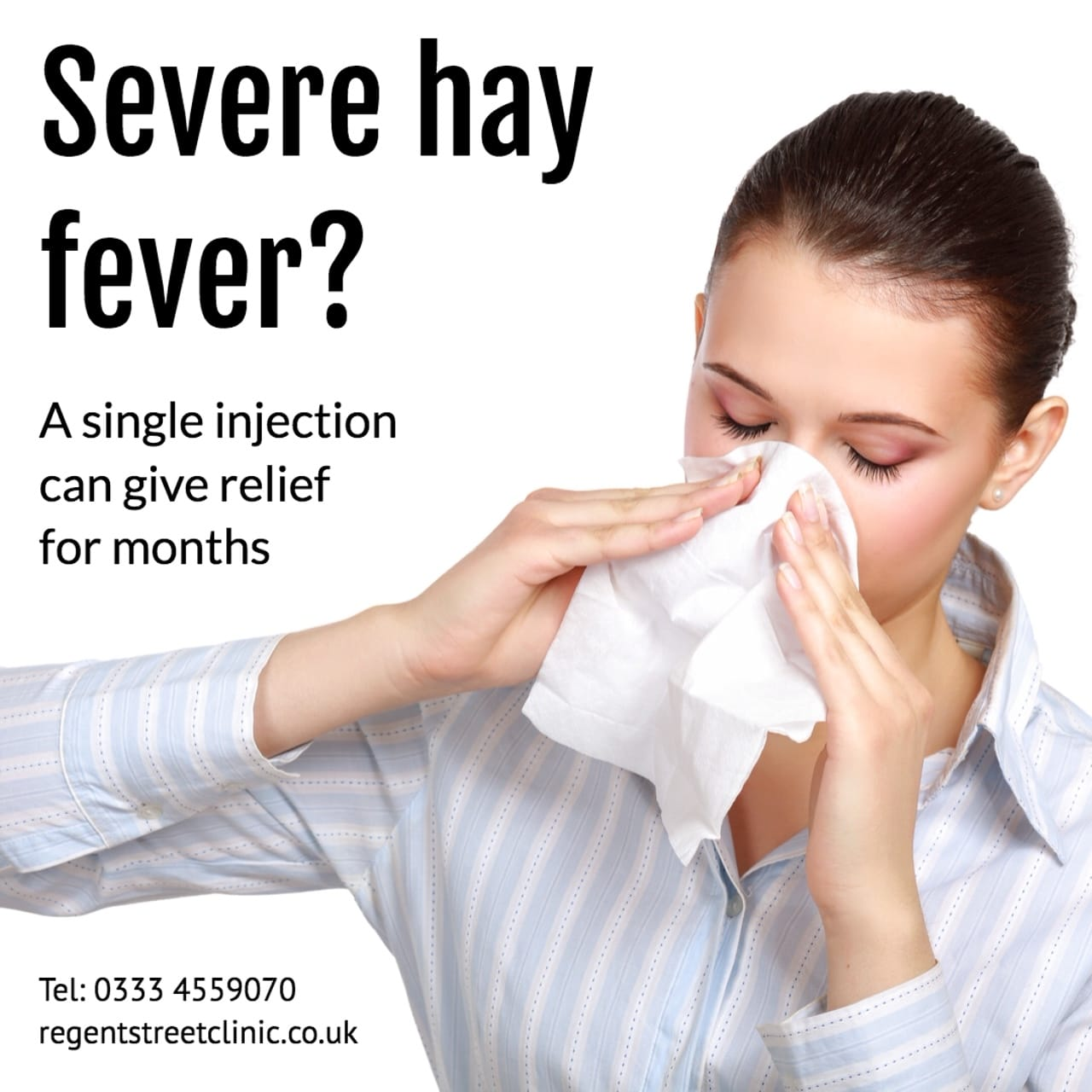 Kenalog Hayfever Injection
